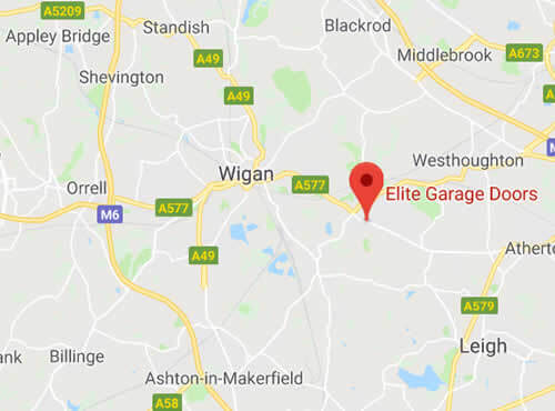 map of Wigan areas we cover