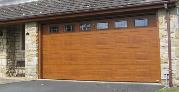 replacement garage doors in Wigan